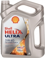 Масло моторное Shell Hellix Ultra 5W-40 4л